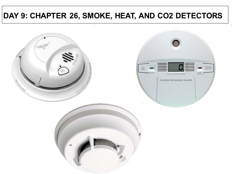 CO alarms have a limited life-span. (3-5 YEARS) CARBON MONOXIDE DETECTORS
