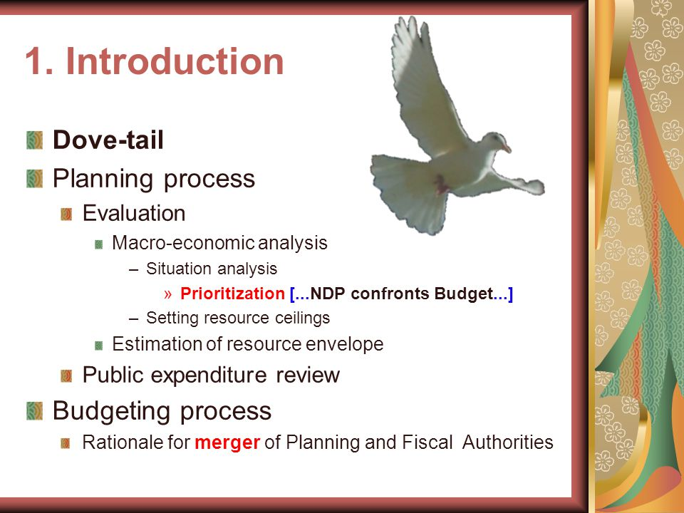 Outline Introduction Uganda: planning and budgeting processes NPoA in Practice Ugandan Key Challenges and Lessons Effort Some Recommendations Lesotho