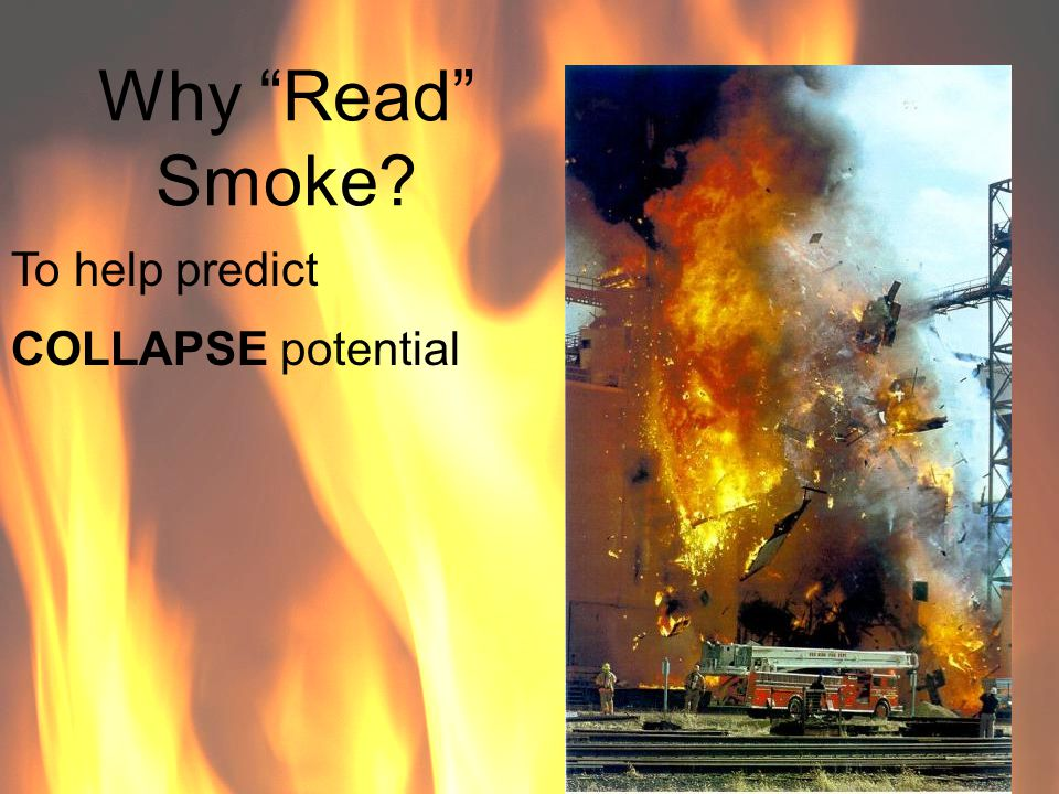 Why Read Smoke? To help PRIORITIZE Strategies & Tactics