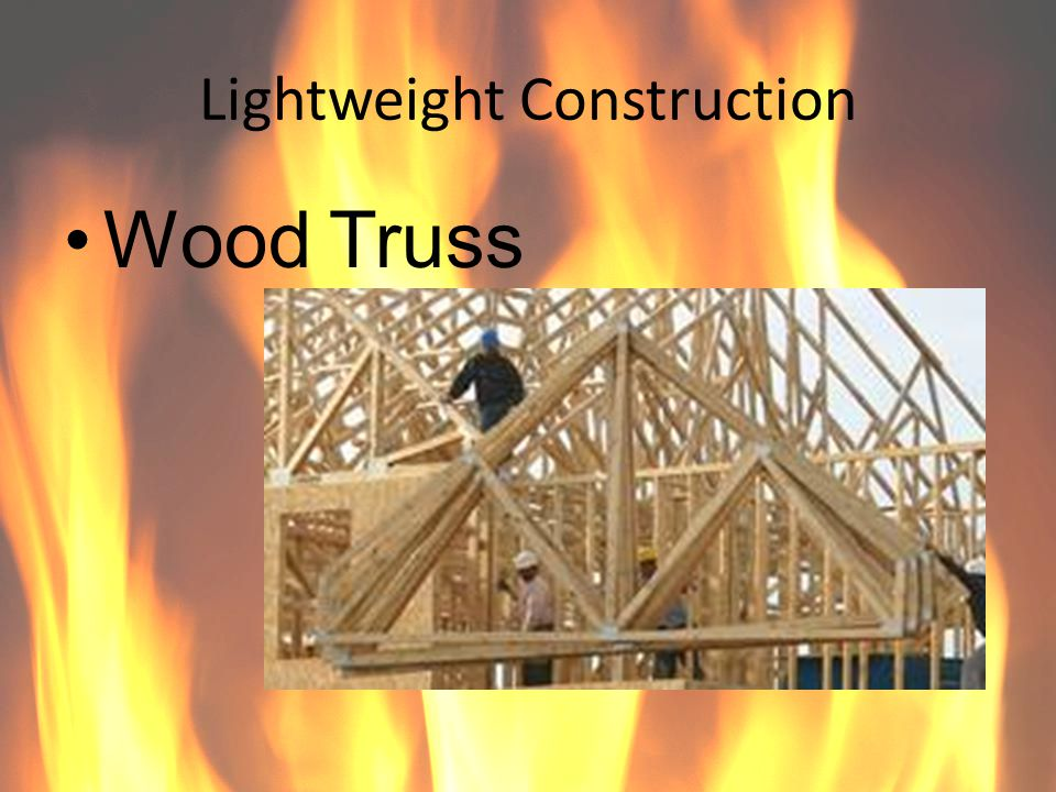 Lightweight Construction Wood Truss