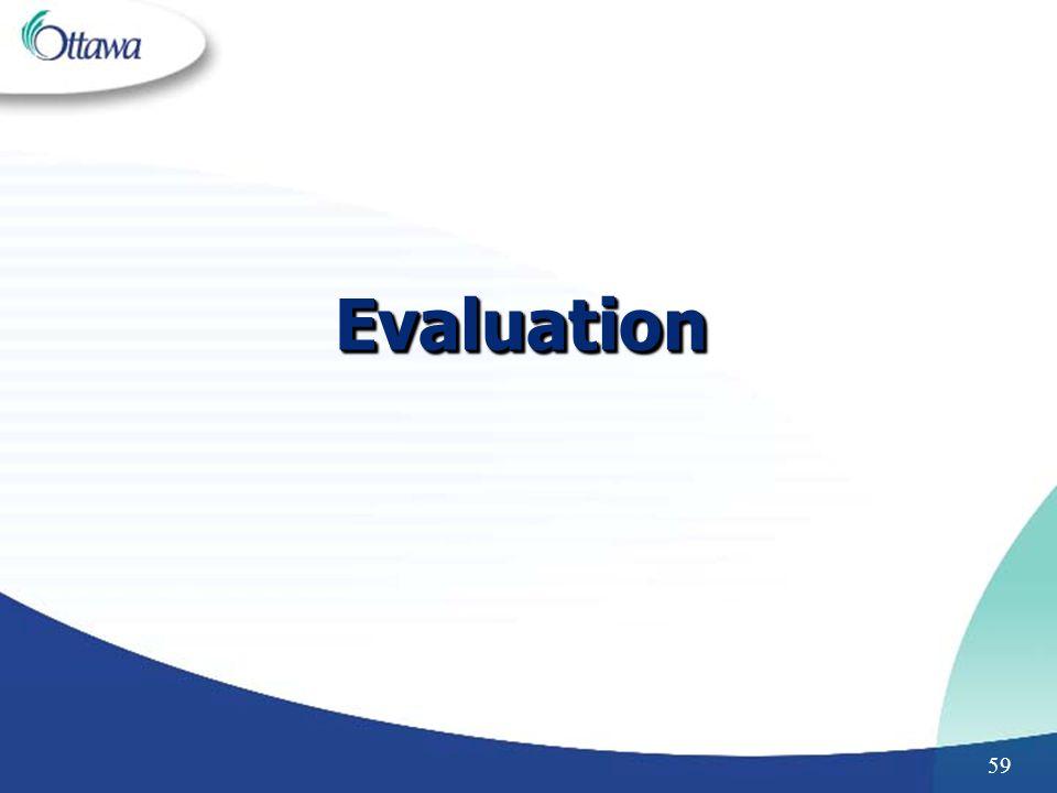 59 EvaluationEvaluation