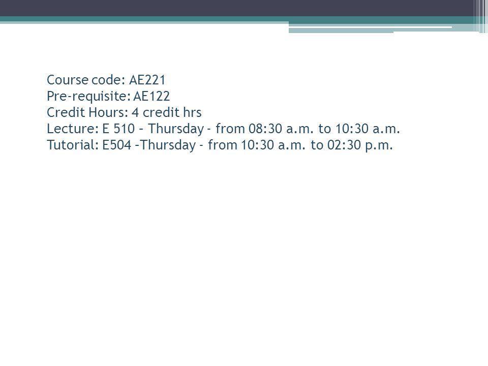 Instructor: Prof.Dr. Yousry Azam E-mail: yousri_azzam@yahoo.com Room: E524