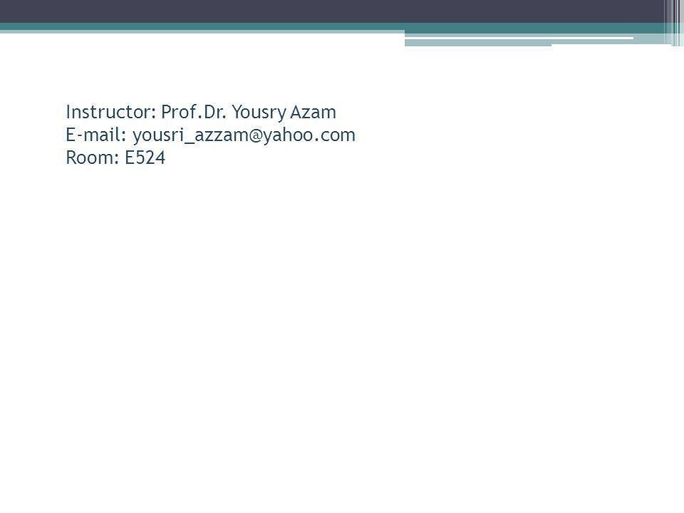 Instructor: Mohammed Fakharany E-mail: m.fakharany@pua.edu.eg Room: E524 Assistant: Hadeel El Naggar E-mail: Room: Assistant: Marwa Kamel E-mail:arch.marwa.k@gmail.com Room: