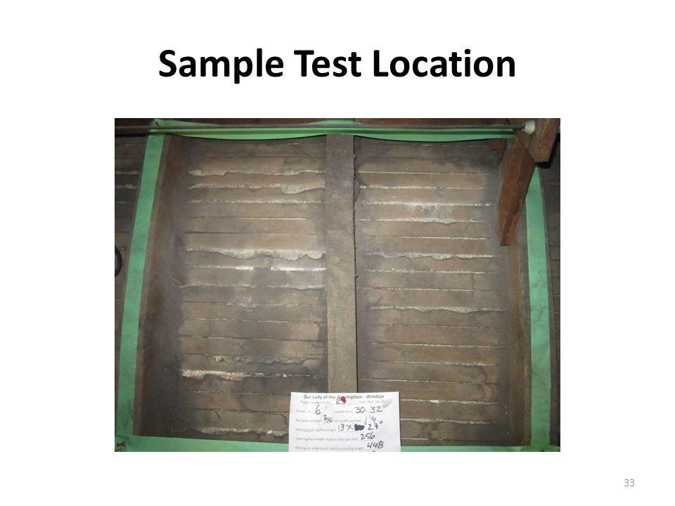 Sample Test Location 33