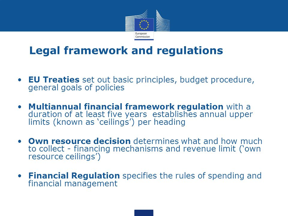 Commissions proposal* *29/06/2011 - COM(2011)500 final, page 5 Multiannual Financial Framework (EU 27)
