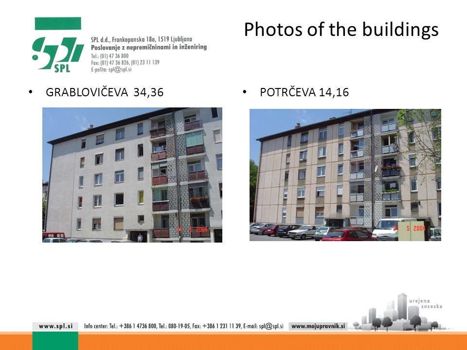 Photos of the buildings POTRČEVA 14,16 GRABLOVIČEVA 34,36