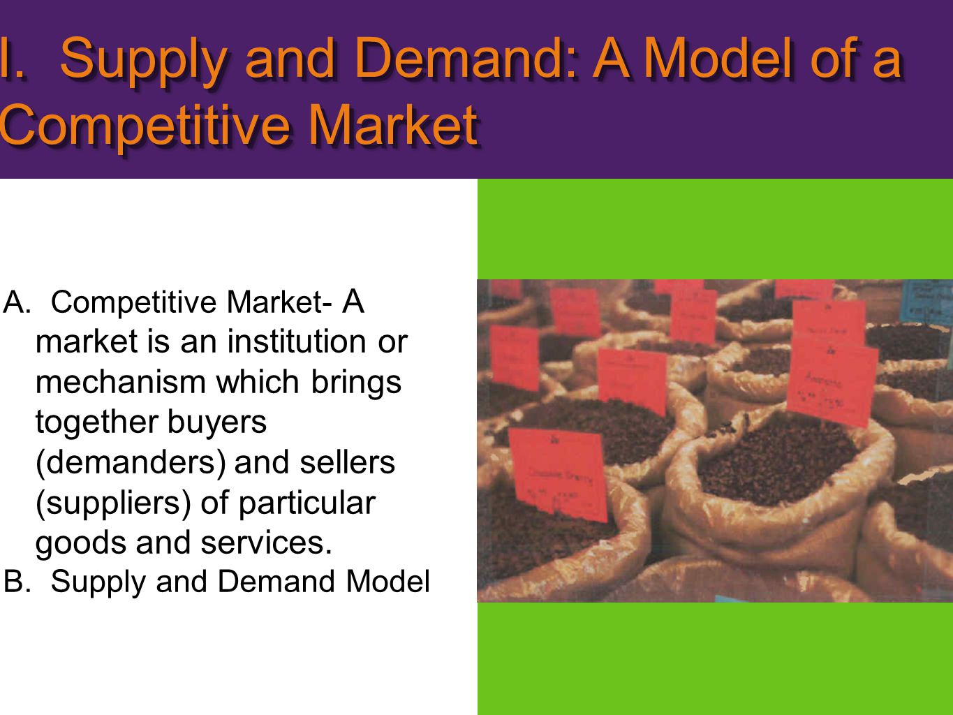A.Demand schedule- shows how much of a product consumers are willing and able to buy at each of a series of possible prices during a specified time period.