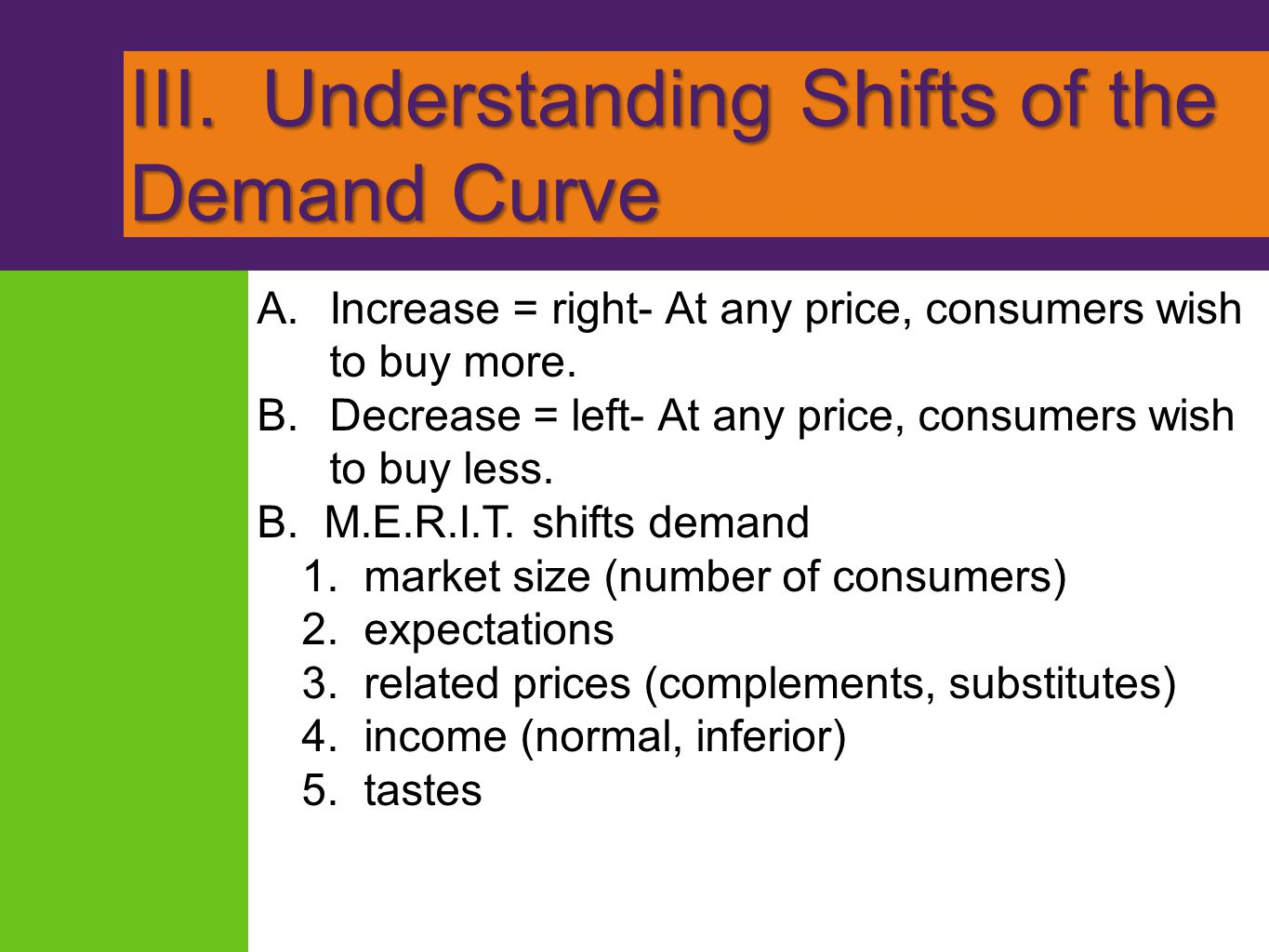 Module Supply and Demand: Supply and Equilibrium KRUGMAN S MACROECONOMICS for AP* 6 Margaret Ray and David Anderson