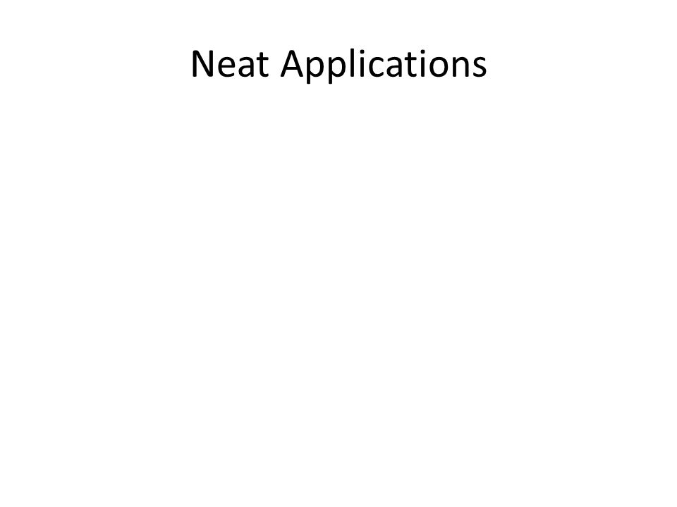 Neat Applications