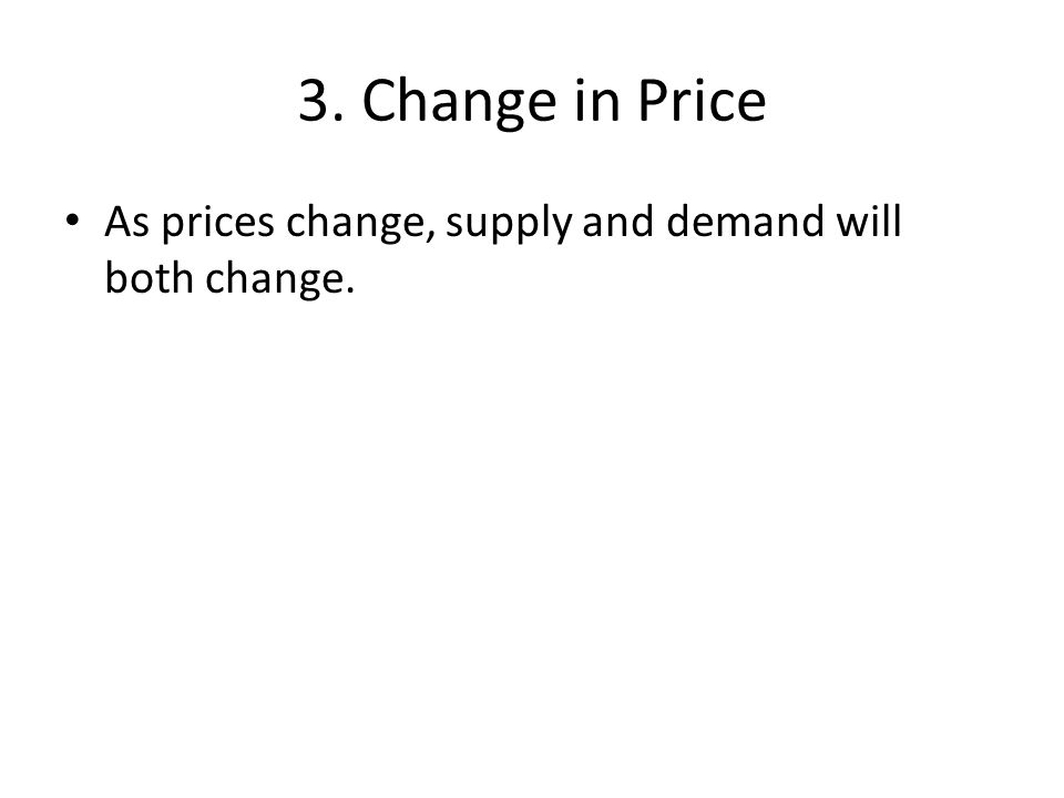 So why are prices important.