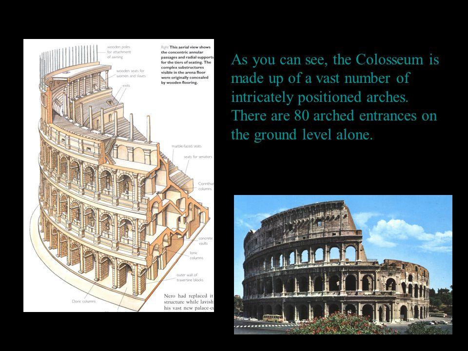 Greek Temple Triangular stone area called pediment.