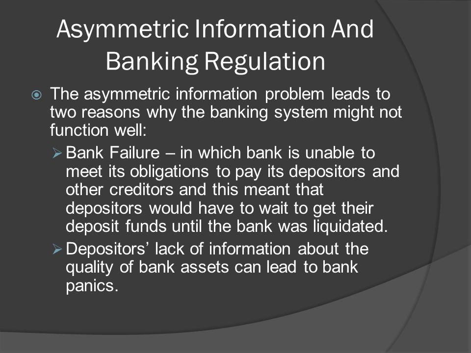 Major Financial Legislation in the United States (cont) Depository Institutions Act of 1982 (Garn-St.