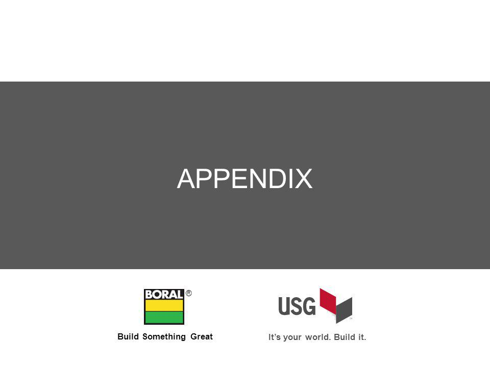APPENDIX ® Build Something Great Its your world. Build it.