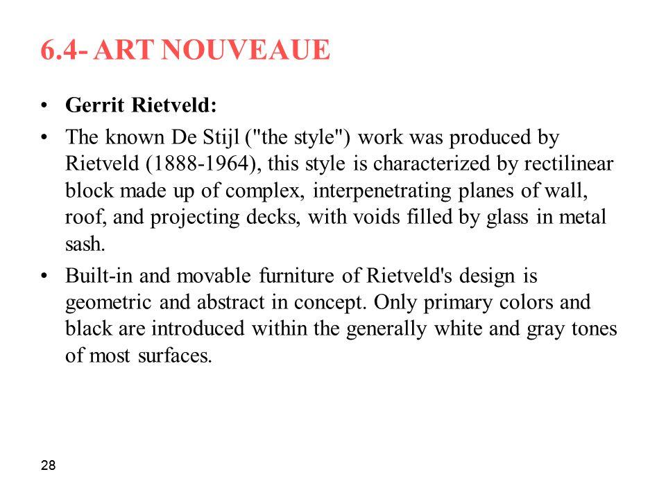 Gerrit Rietveld: The known De Stijl (