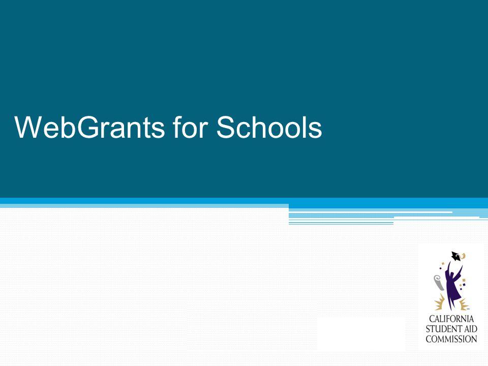 WebGrants for Schools