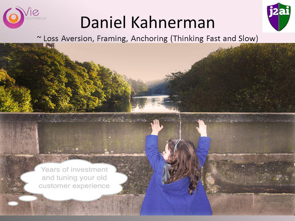 Daniel Kahnerman ~ Loss Aversion, Framing, Anchoring (Thinking Fast and Slow)