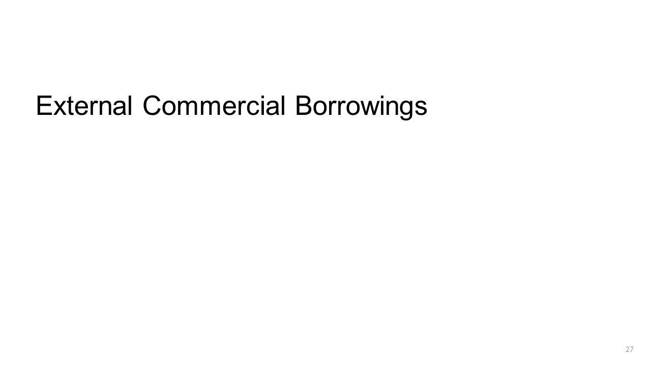 External Commercial Borrowings 27