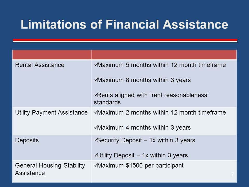 Guiding Question How will you design and structure your SSVF Programs Temporary Financial Assistance to… 1)Respond effectively to housing crises faced by each eligible Veteran; while… 2)Serving as many eligible Veterans as possible.