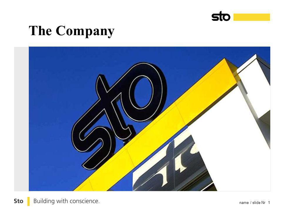 name / slide Nr 1 The Company
