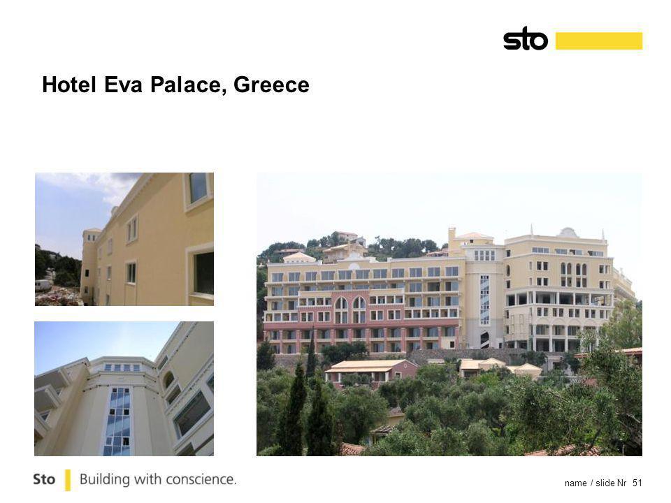 name / slide Nr 51 Hotel Eva Palace, Greece