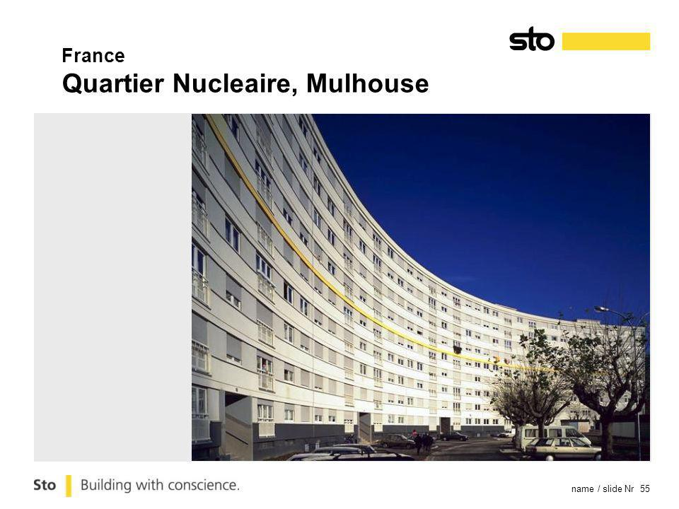 name / slide Nr 55 France Quartier Nucleaire, Mulhouse