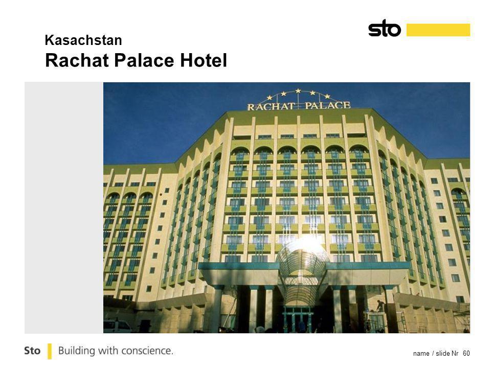 name / slide Nr 60 Kasachstan Rachat Palace Hotel