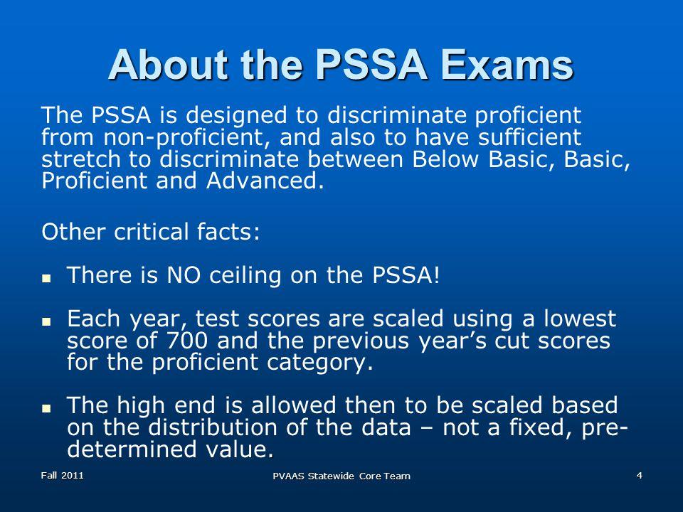 Grades 9-11 Math Fall 2011 PVAAS Statewide Core Team 25
