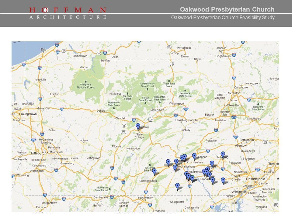 Oakwood Presbyterian Church Feasibility Study 10/02/2012Copyright Hoffman Architecture 20127 Facility Assessment Team Presentation