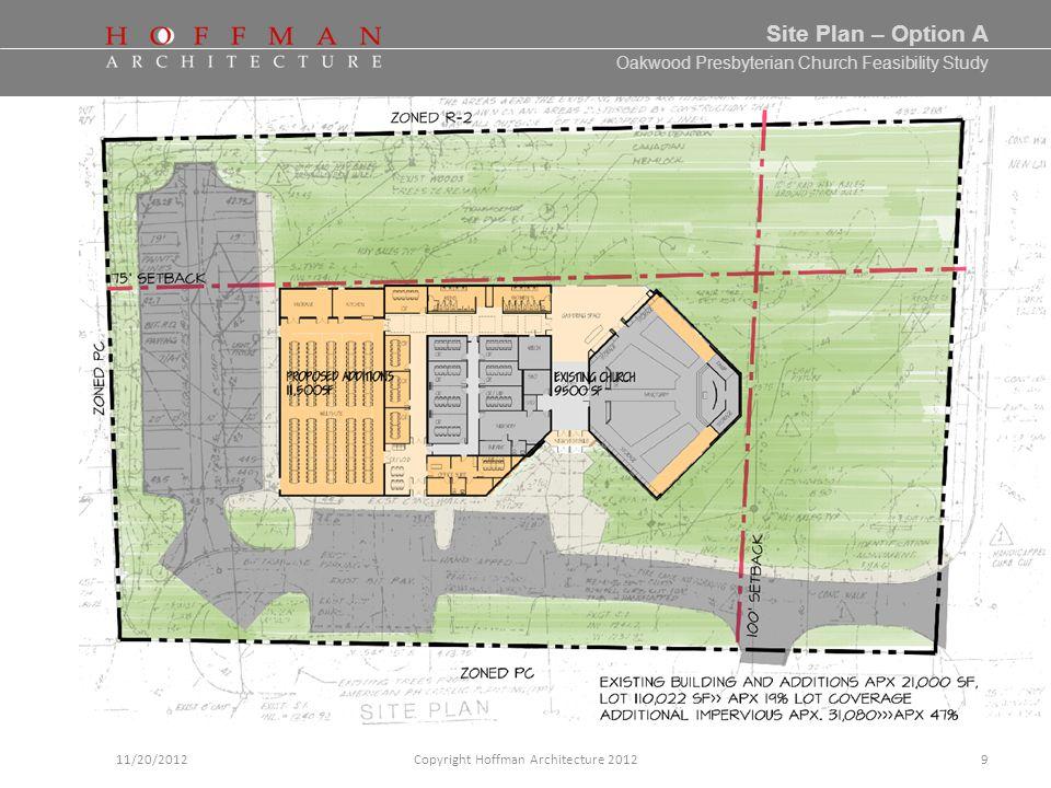 Oakwood Presbyterian Church Feasibility Study 10/02/2012Copyright Hoffman Architecture 201220 Phasing- The Next Step