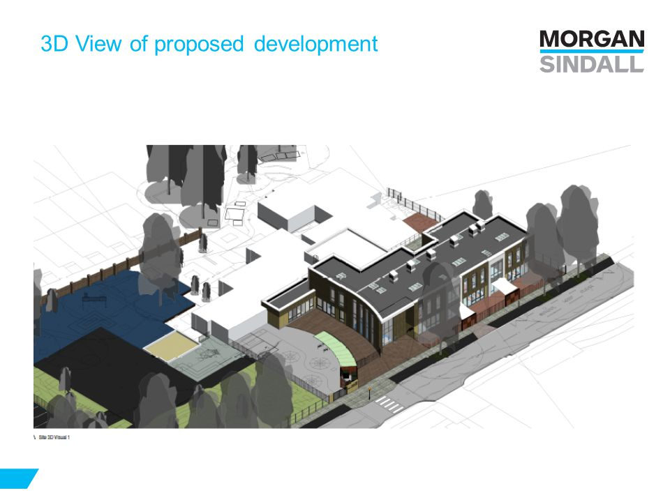3D View of proposed development