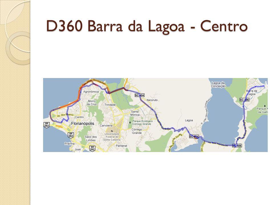 D360 Barra da Lagoa - Centro