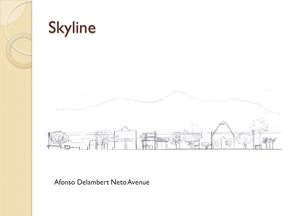 Skyline Afonso Delambert Neto Avenue