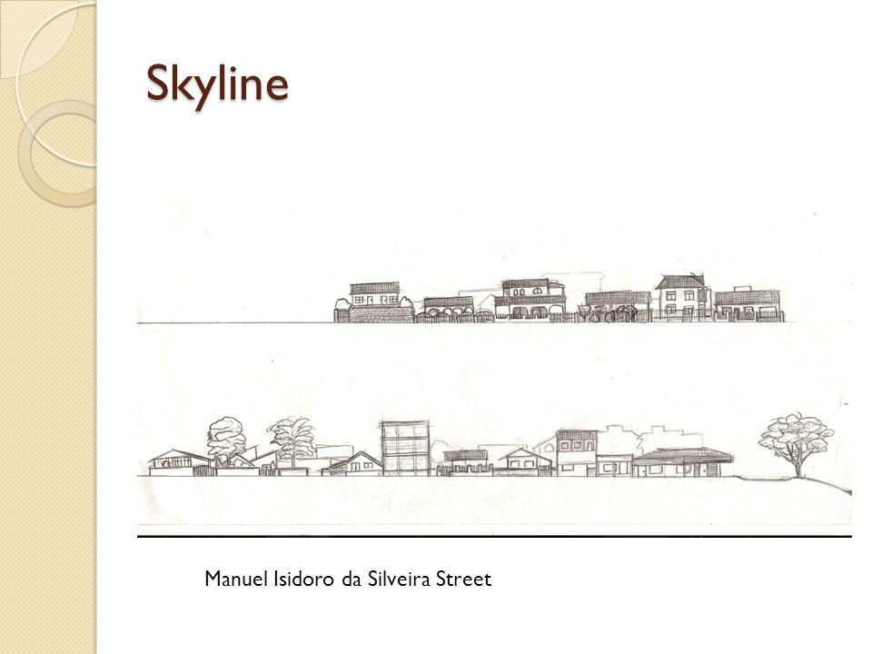 Skyline Manuel Isidoro da Silveira Street