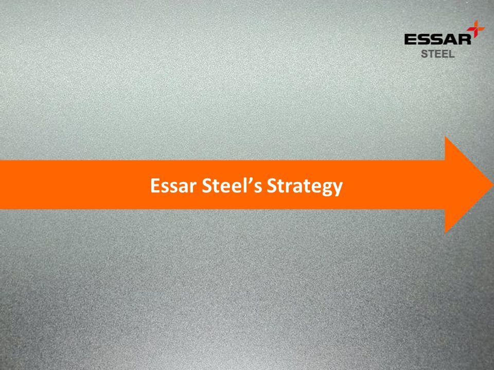 Essar Steels Strategy