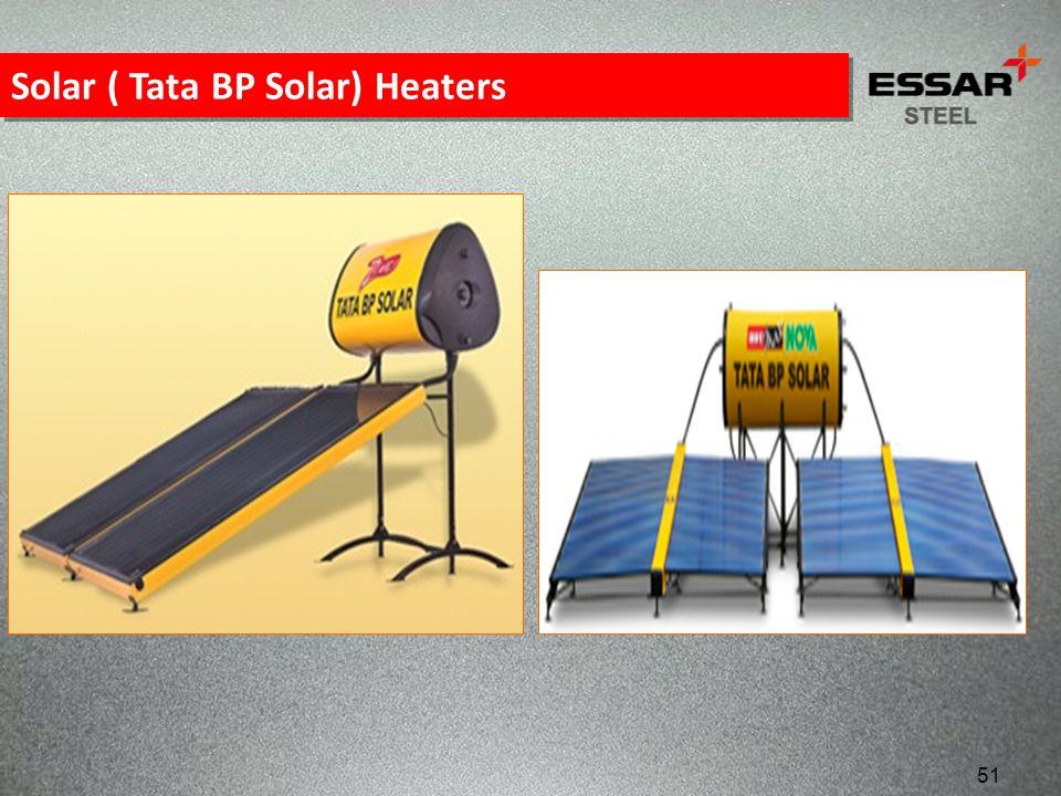 Solar ( Tata BP Solar) Heaters 51