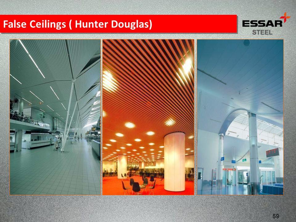False Ceilings ( Hunter Douglas) 59