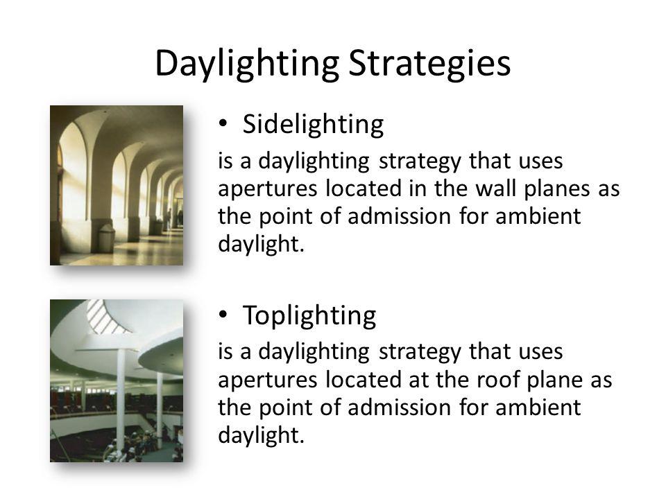 Assessing a Sustainable Lighting Program 1.