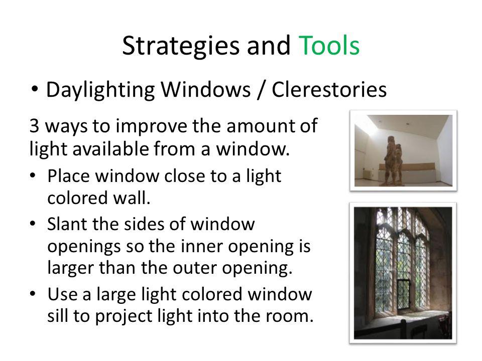 Assessing a Sustainable Lighting Program 2.