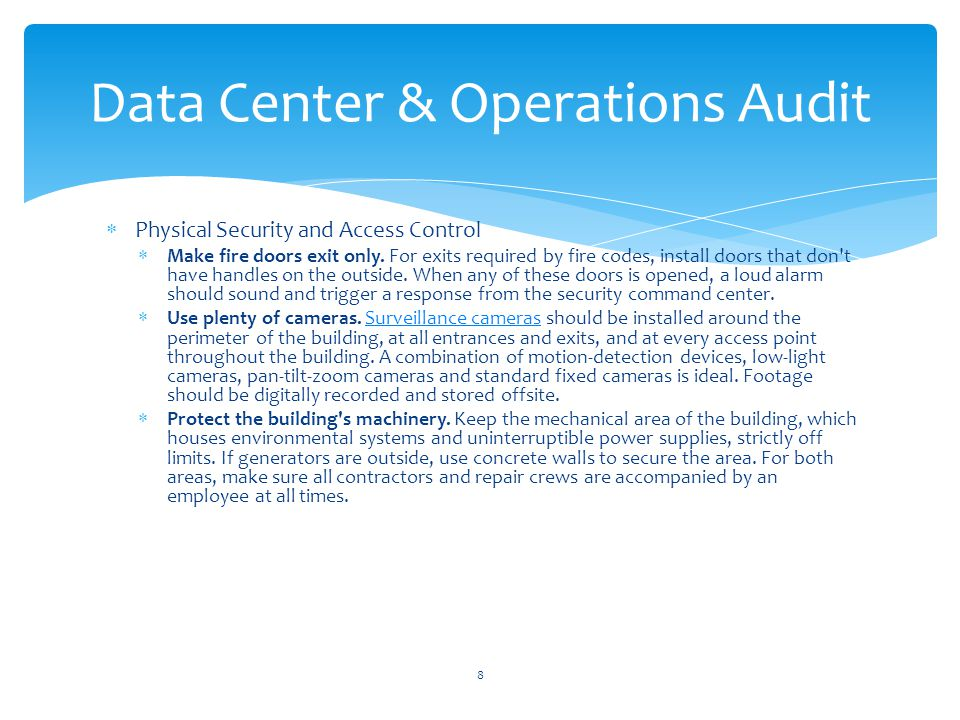 Physical Security and Access Control Plan for secure air handling.