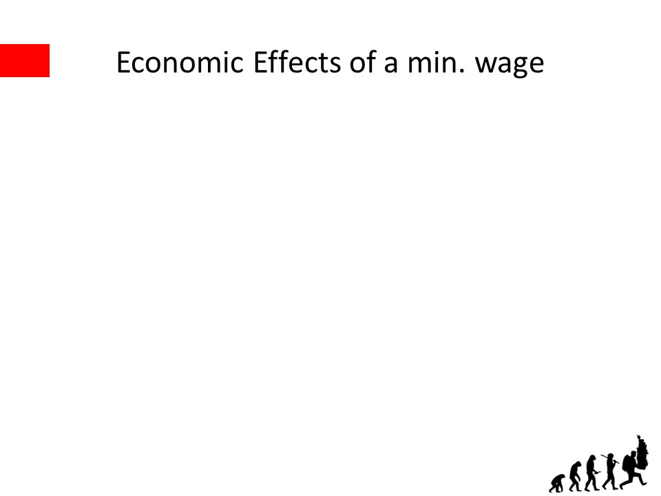 Economic Effects of a min. wage
