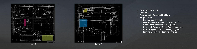 Level 1Level 2 Size: 309,450 sq. ft.