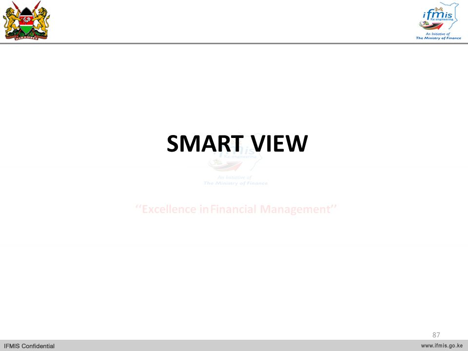 SMART VIEW 87