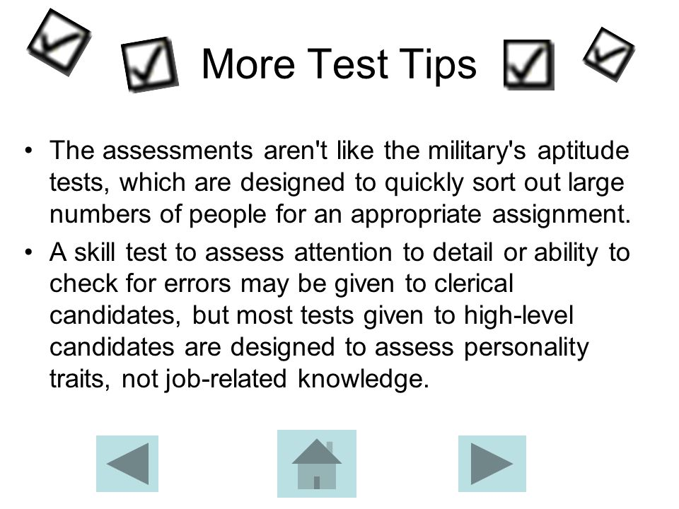 Test Time Typically, the pre-employment tests can be completed in less than an hour, but some require 90 minutes or more.