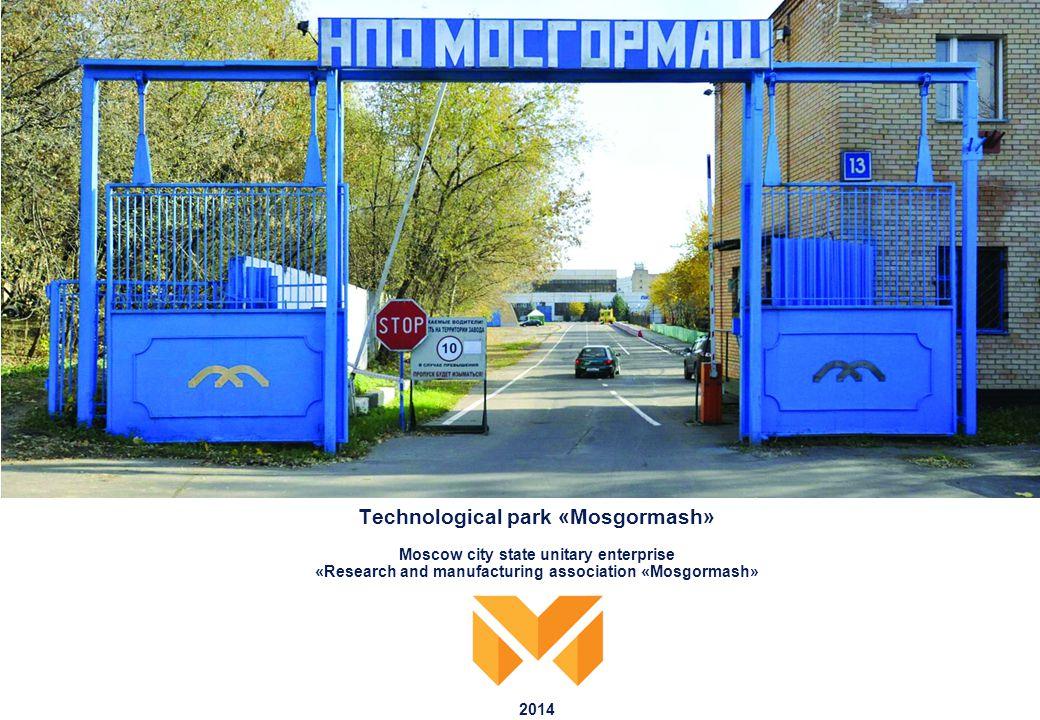 1 Information about the enterprise bus service trolleybus service car route State unitary enterprise (SUE) NPO Mosgormash, is a management company of Mosgormash technological park.