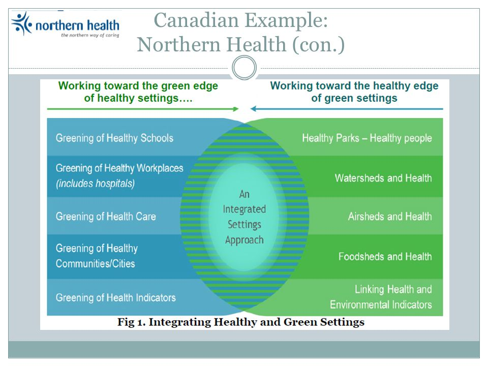 Canadian Example: Northern Health (con.)
