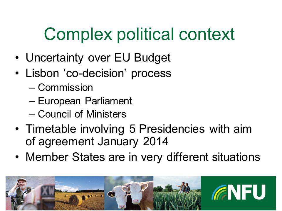 The NFU champions British farming and provides professional representation and services to its farmer and grower members co-decision