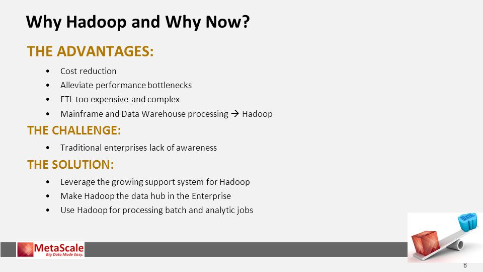 8 Why Hadoop and Why Now.