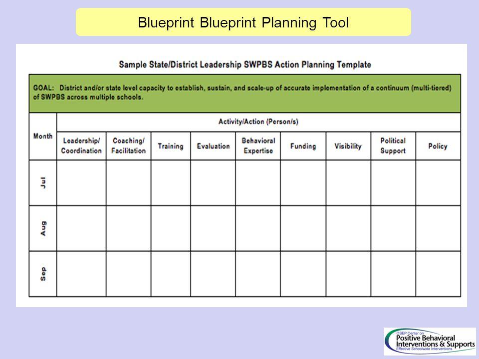 Blueprint Blueprint Planning Tool
