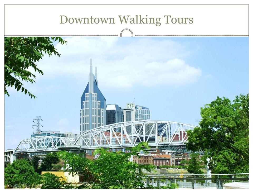 Downtown Walking Tours