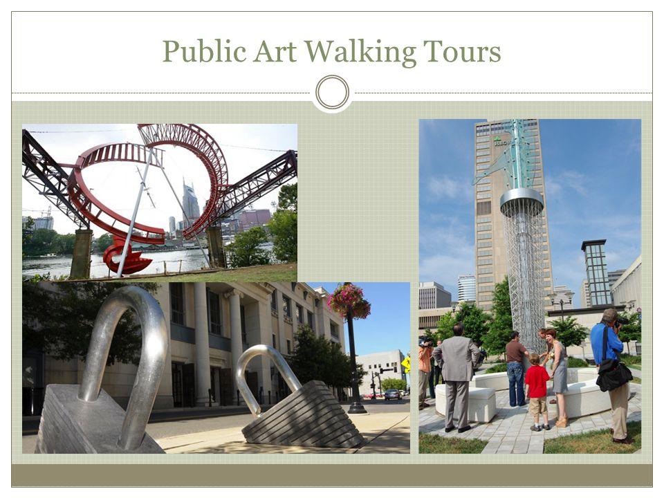 Public Art Walking Tours